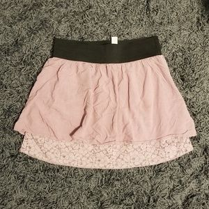 Double layered skirt